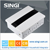 GNB5016 Waterproof Factory price fiberglass outdoor electrical distribution box size SMC 273*210*85mm