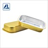 ALCHN 1000ml Disposable Aluminum Roasting Food Packaging Takeaway Foil Food Container With Easy Open Lid