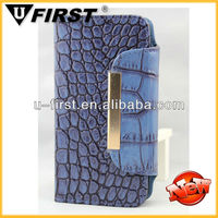 hot selling leather phone case 2013 for iphone 5 crocodile