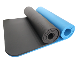 NBR professional fitness sports yoga exercise mat brand square 10mm thick