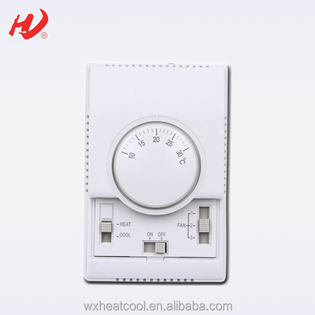 Mechanical Fan Coil Unit Room Temperature Controller - Buy Fan Coil  Unit,Fan Speed Control Room Thermostat,Air Conditioner Thermostat Product  on