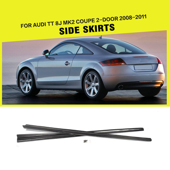 Tt Mk Carbon Fiber Side Door Skirts For Audi Tt J Coupe Door - 2 door audi