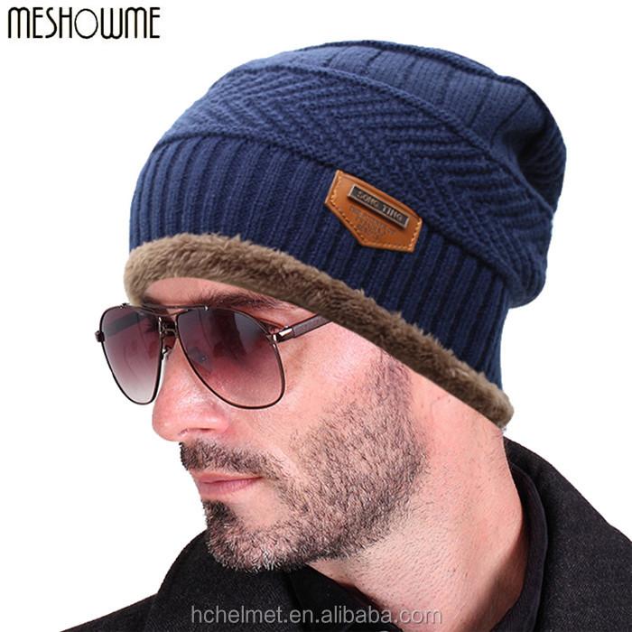 2016 marca beanies knit sombrero de invierno skullies Bonnet ...