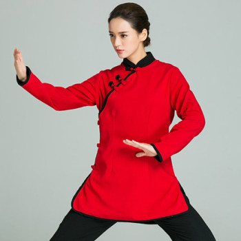 Chinese Wing Chun Kung Fu shirts Tang Suits Martial Art Tai Chi Uniform Costume