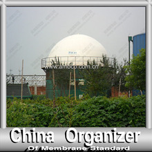 ISO Double Membrane Gas Dome for Farm Brewery Paper mill, Sewage treatment Agricultural residues Solid Waste,etc...