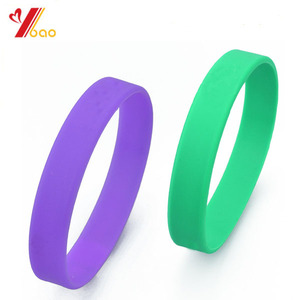 100% Silicone customized silicone wristband/plain bracelet wrist band,cheap custom rubber bracelets