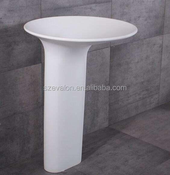 Ivory Color Freestanding Wash Basin Price In India Pedestal Sinks Indian Porta Hand