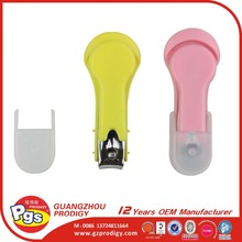 Baby safety colorful plastic baby nail clipper