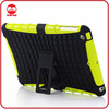 Heavy Duty Shockproof Rugged Impact Bumpy Grip 2 in 1 Armor Hybrid Combo Anti-shock Case for Ipad Mini