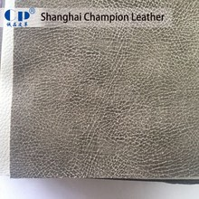 Hot Sale 1.2mm Thick Wire Lines Texture PU Synthetic Leather Material For Shoes