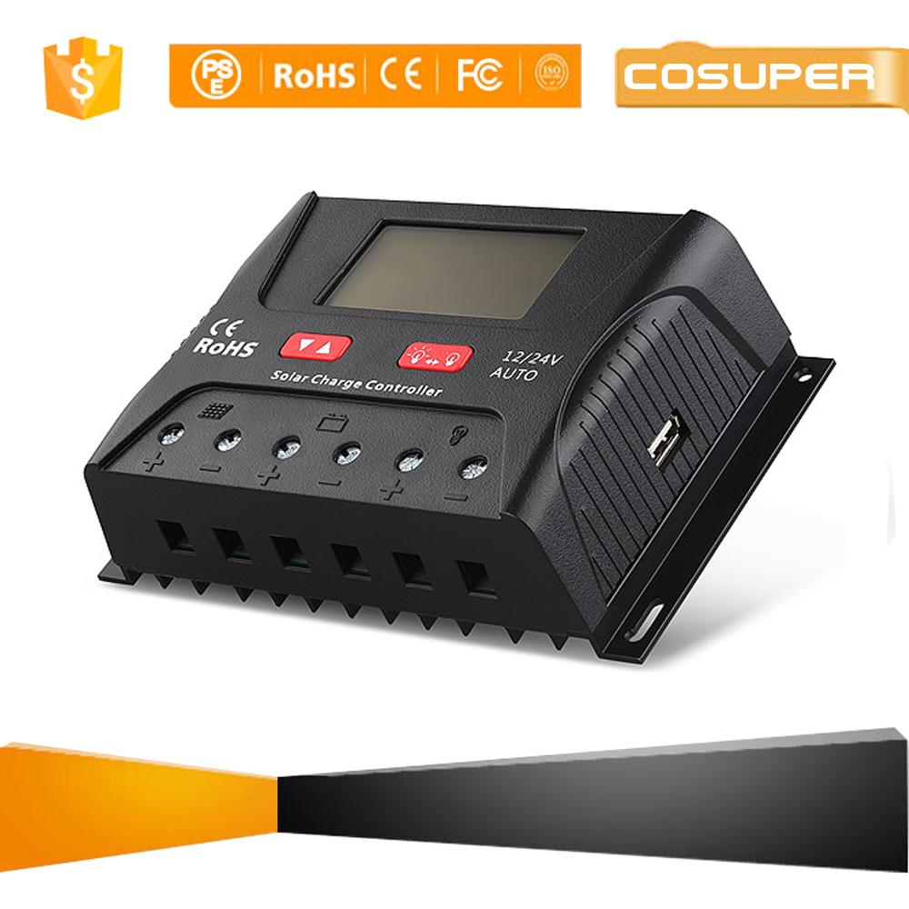 12 Volt 20 Amp Solar Charge Controller