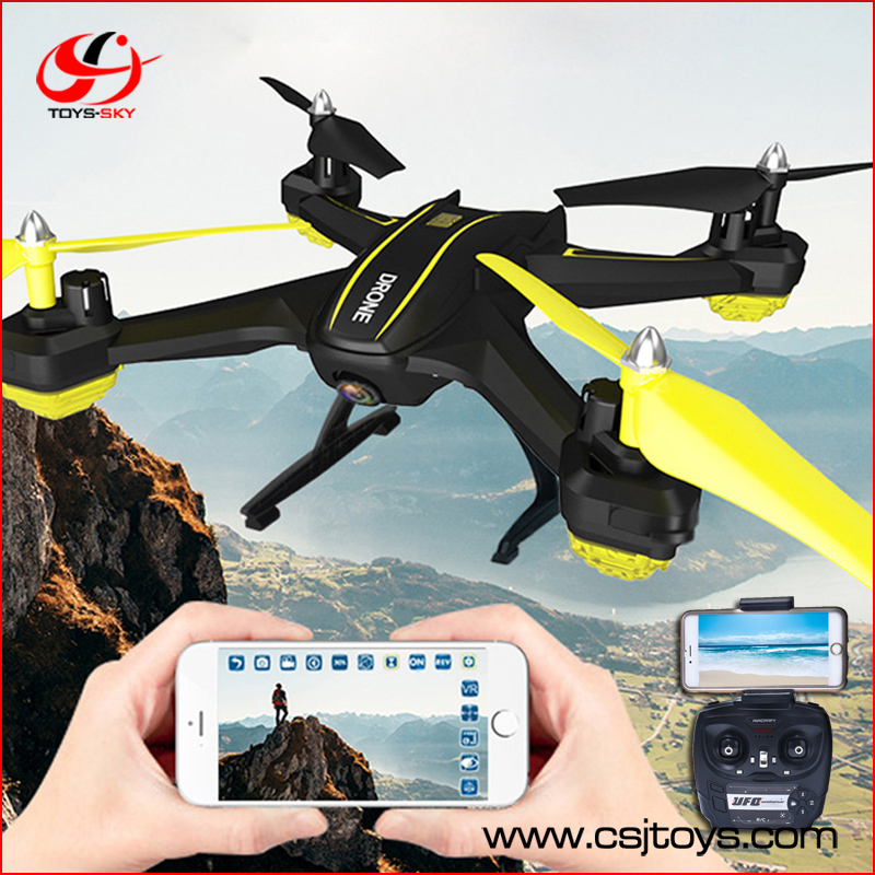 High Quqlity S6W app control 2.4g drone wifi camera 720P 120 Degrees Wide angle Camera