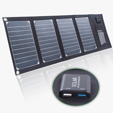 20 W Sunpower Panel Tenaga Surya/Solar Panel Tahan Air Foldable Camping Solar Battery Charger dengan Dual Usb <span class=keywords><strong>Port</strong></span>