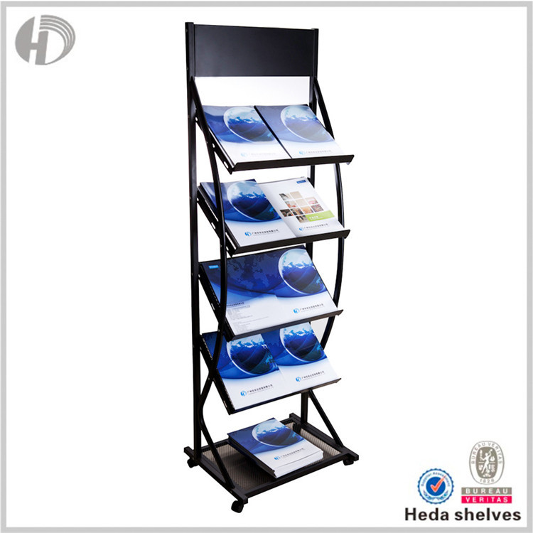 Best Quality Durable Metal shelving Custom Fit Retail Book Store Shelves