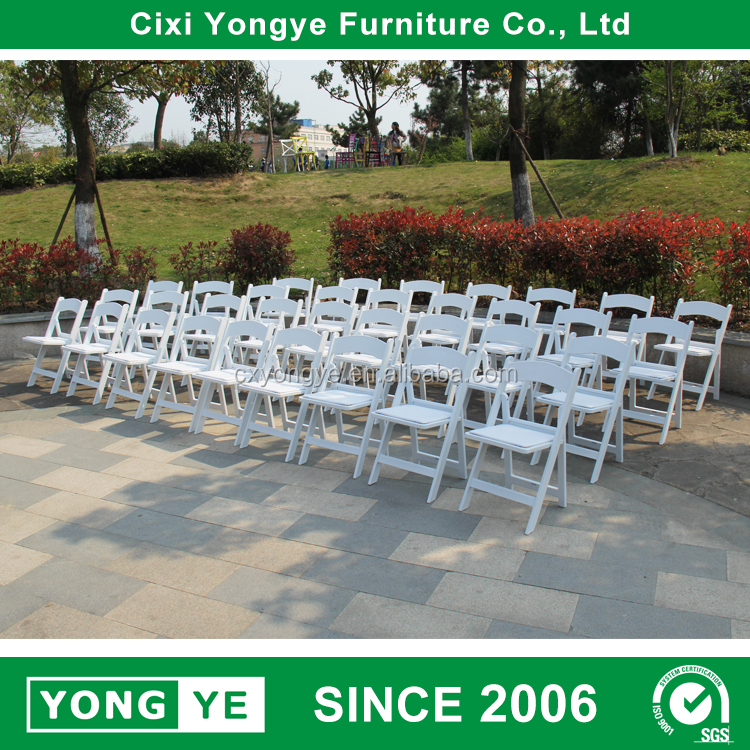 best selling in america party rental dining resin folding wedding hire chairs
