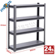 Used storehouse furniture 4 tier storage rack metal display rack cable storage rack