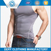 Professional good quality wholesale plain white tank top with breathable fabric
