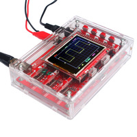 "DSO138 2.4"" TFT Handheld Pocket-size Digital Oscilloscope Kit SMD Soldered + Acrylic DIY Case Cover Shell for DSO138"