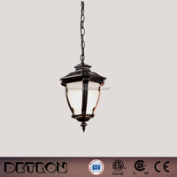 Industrial LED Commercial Lighting Indoor Decorations Copper Pendant Light