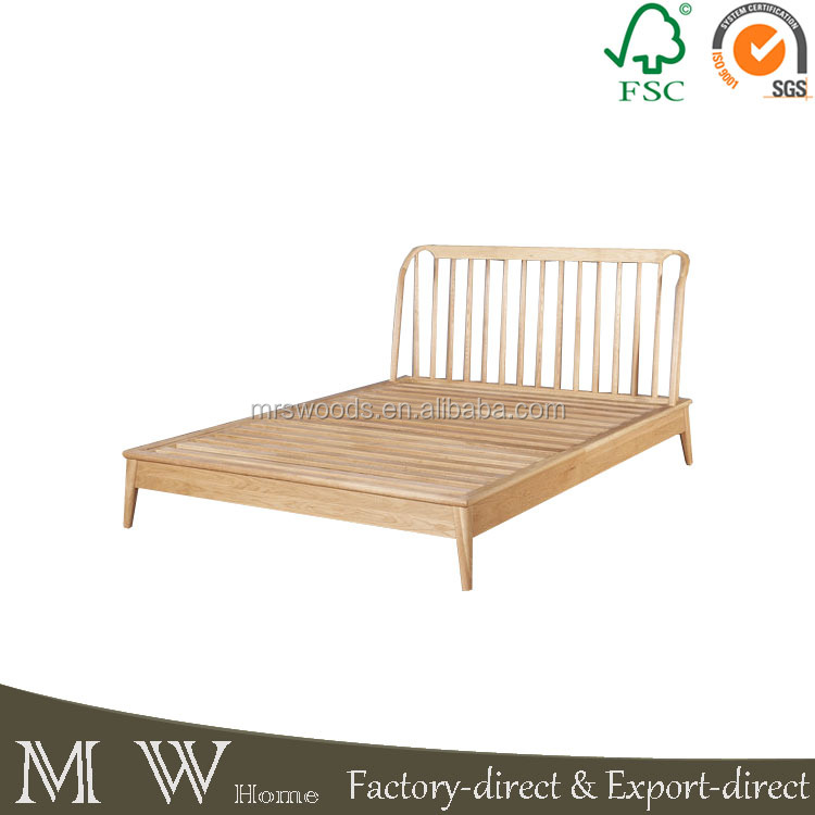 Roble macizo muebles de madera de roble natural cama con - Muebles de roble macizo ...