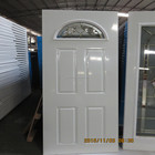 wooden edge steel panel doors,poly foam steel door with cheap price,cheap wrought iron gates