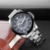 SKONE 7232 mens cheap all stainless steel watches with skeleton dial