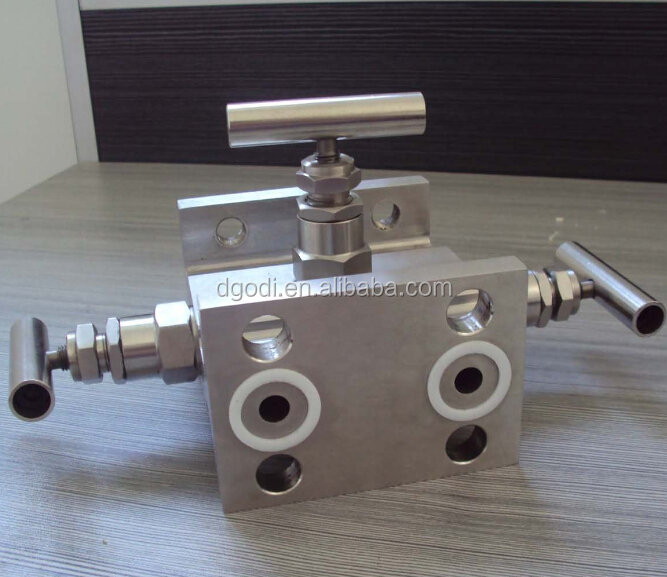oem cnc milling stainless steel air / gas / oxygen intake manifold