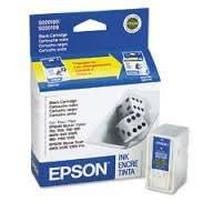 Epson S189108 (Replaces S020108, S020189) Black OEM Genuine Inkjet/Ink Cartridge - Retail