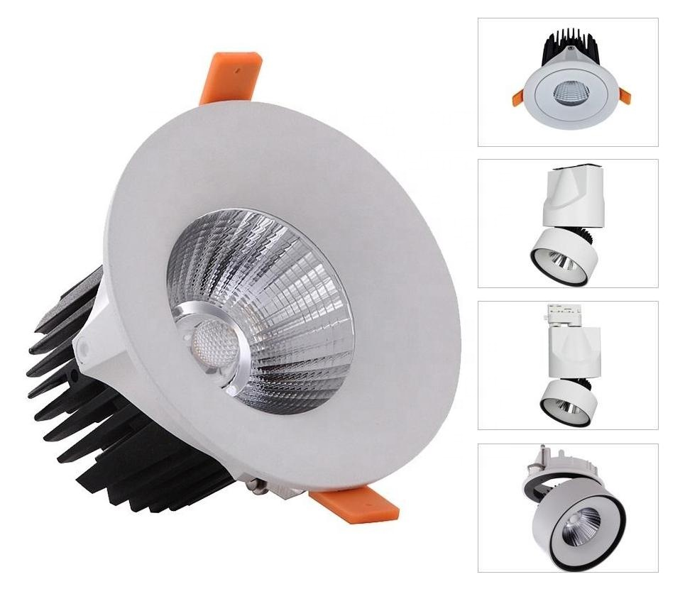 Led Downlight 24W 30W 36W 42W 48W Square Lighting Fixture Led Recessed