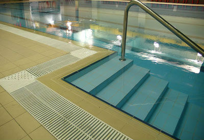 Factory Price Abs Swimming Pool Border Overflow Grids