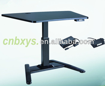 Single Motor Folding Table Legs Electric Height Adjustable Desk Home And  Office Standing Desk