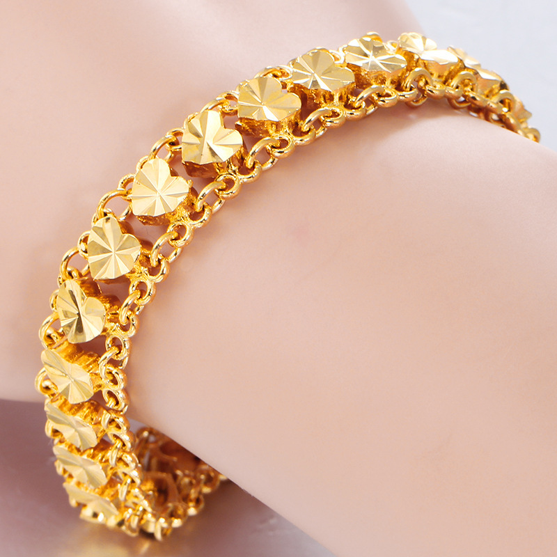 14k gold bracelet assorted gold bracelet yellow gold solid gold bracelet jewelry mixed gold bracelet