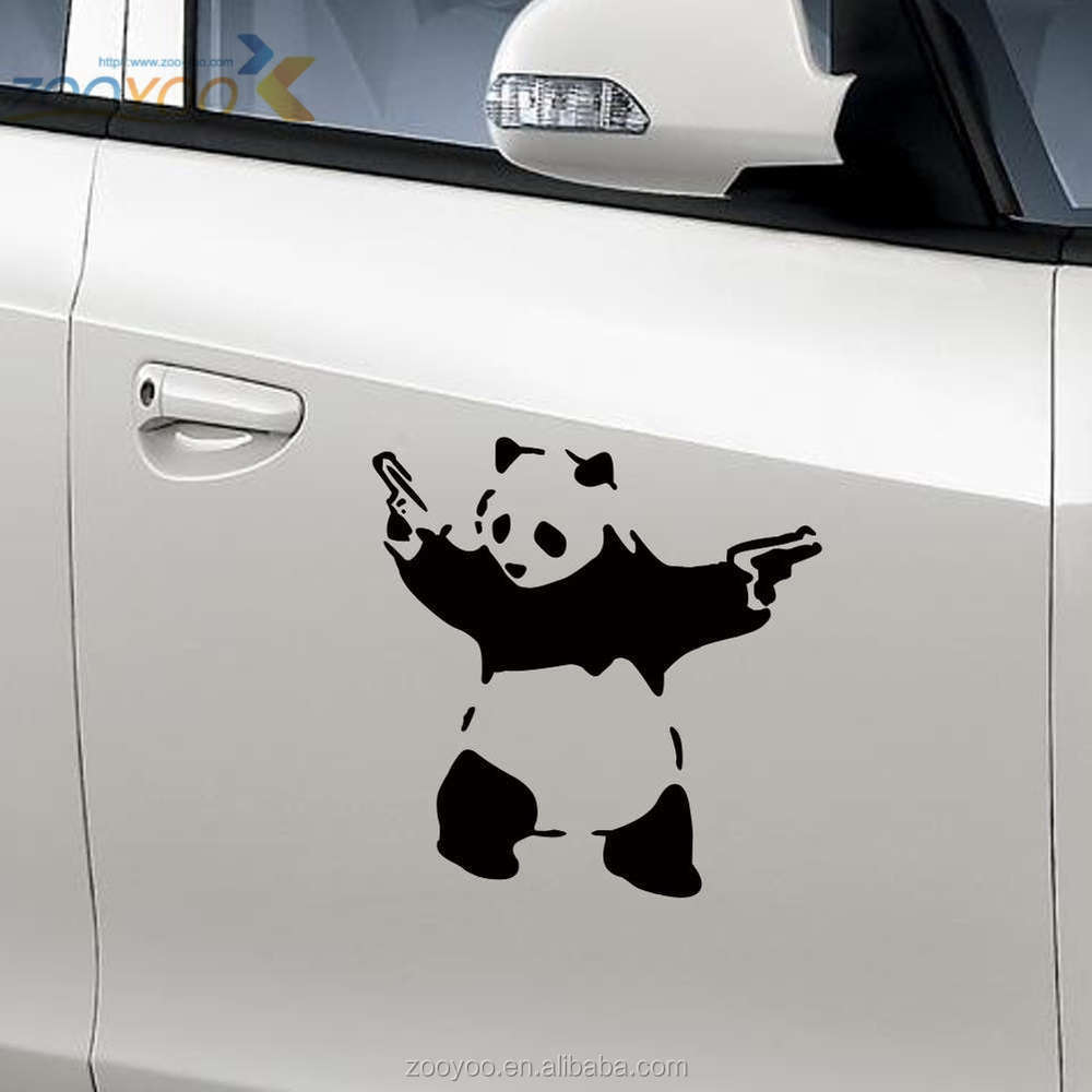 Cute car sticker designs - Vinyl Car Srickers Zooyoo Art Vinyl Sticker For Car Removable Car Sticker Design Car Decoration