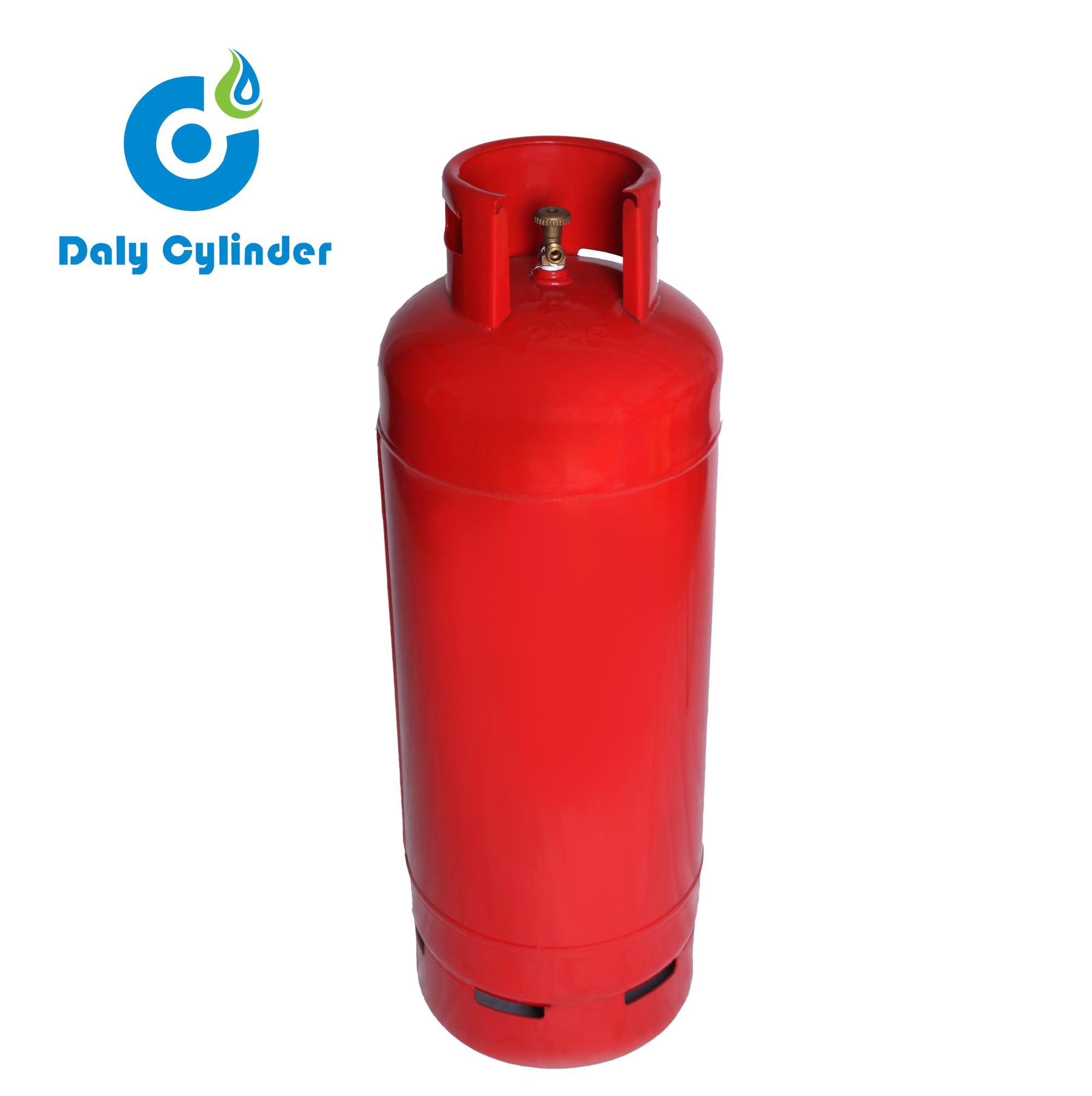 China professionele vervaardiging factory direct supply Panama universele lege 50 kg composiet lpg gasfles prijs