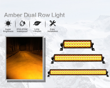 Factory Wholesale Offroad Led Light Bar amber fog light