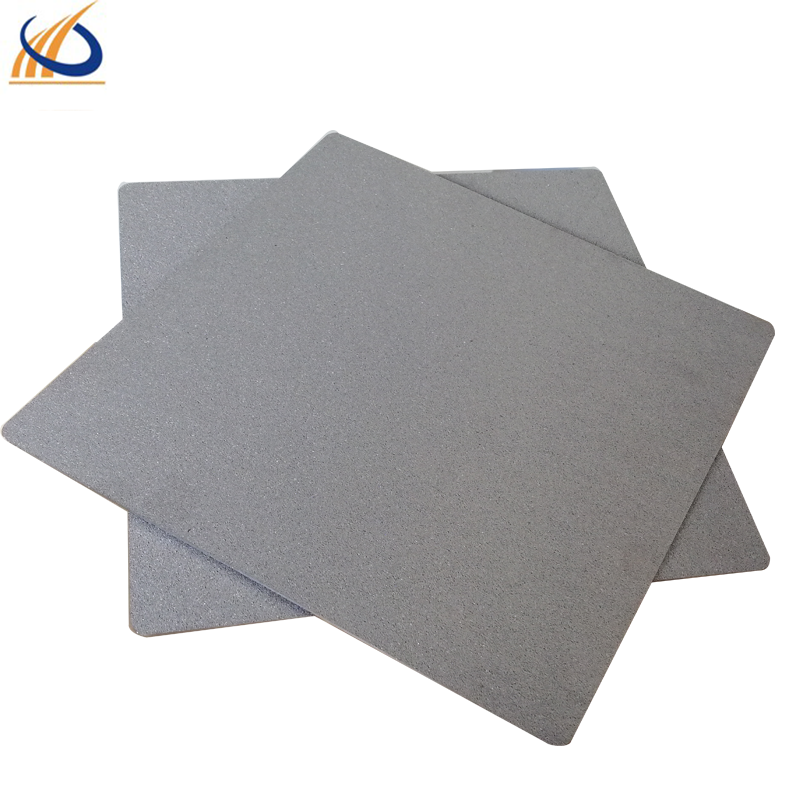 Purity titanium powder sintered plate filter for water treatment and pharmaceutical industry