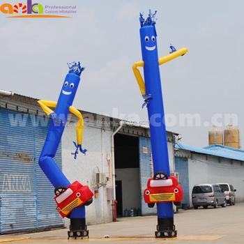Oem Odm Service Make Air Dancer Inflatable Car Wash Sky For Advertising