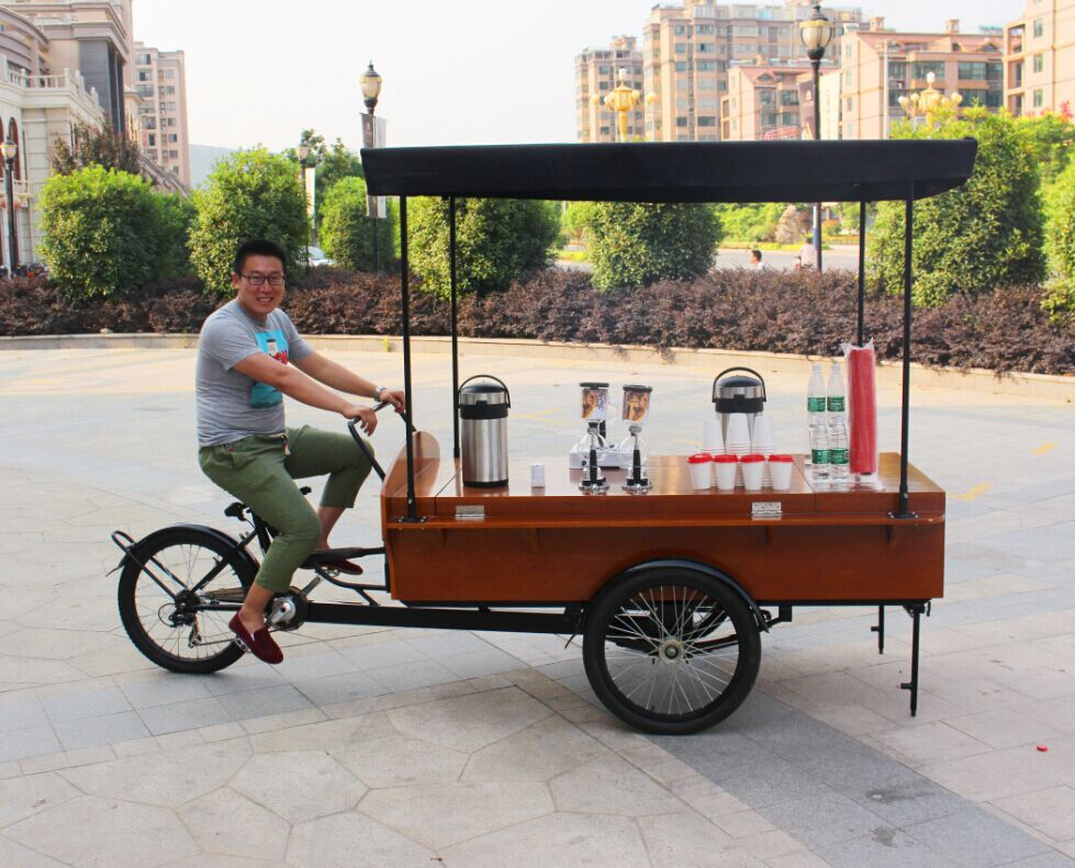 Kitchen Appliances Fashion Food Truck Coffee Cart Food Vendor Bike For Fast Food Home Appliances