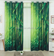 Brand 2014 new 3D photo print first stand blackout curtain for home and hotel
