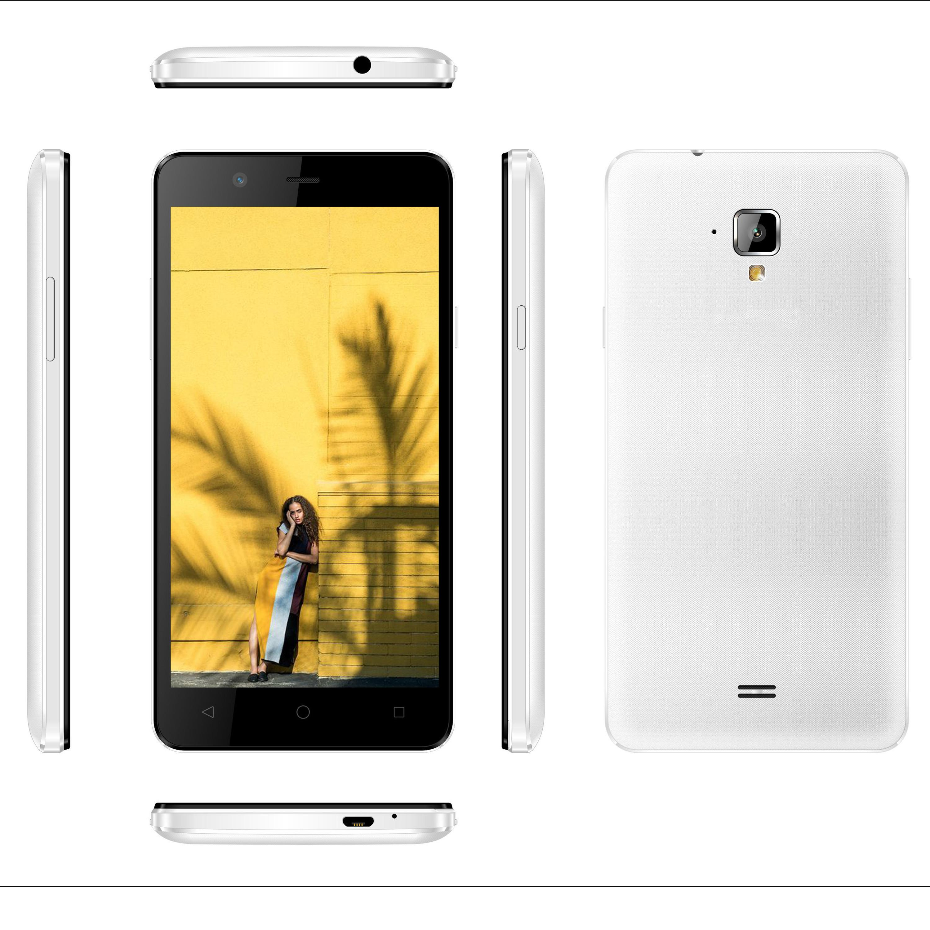 "5"" 3G Smartphone MTK6580 Quad Core android cheap China oem manufacturer 3g 5inch phone"