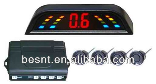 Wireless LED Parking sensor besnt wireless digital car rearview led parking sensor suitable for all cars BS-HS33A