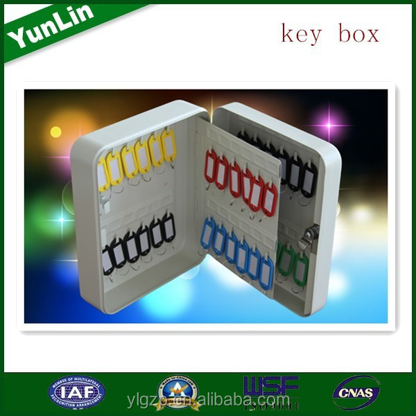 easy and simple to handle plastic box with lock and key