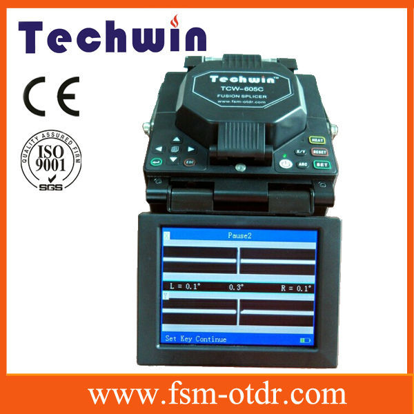 Lcd Monitor Sm/mm Fiber Optic Cable Fusion Splicer,Fiber Optic ...