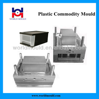 Refrigerator Drawers Injection Mould Plastic Drawer Mold