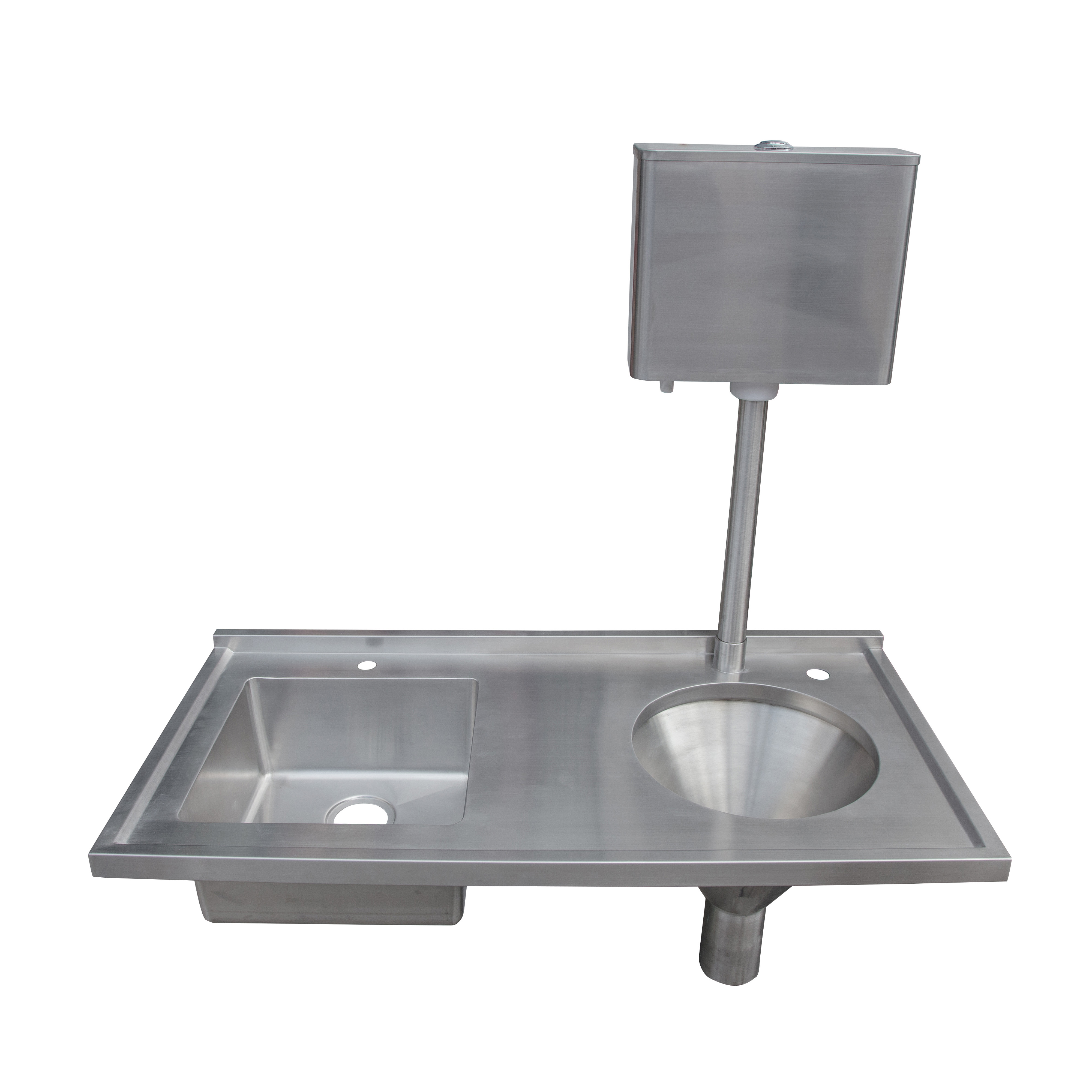 First class wash mop sink knee operated sink
