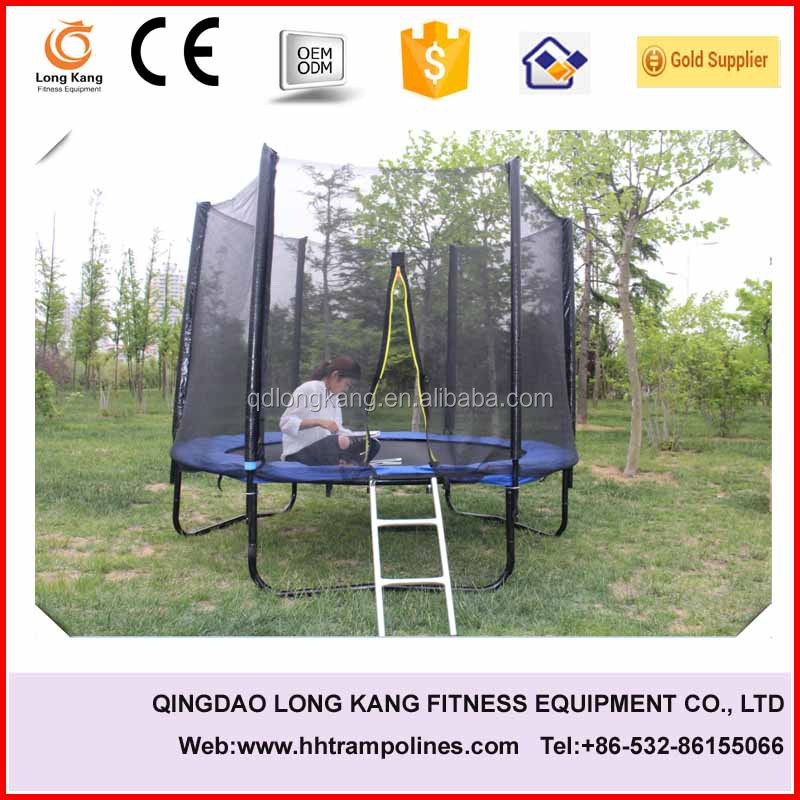 Long Pole Hot Sale Cheap Kids Outdoor Gymnastic Trampoline,mini trampoline