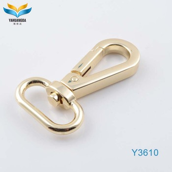 2017 new product double rose gold swivel snap hooks for clothes