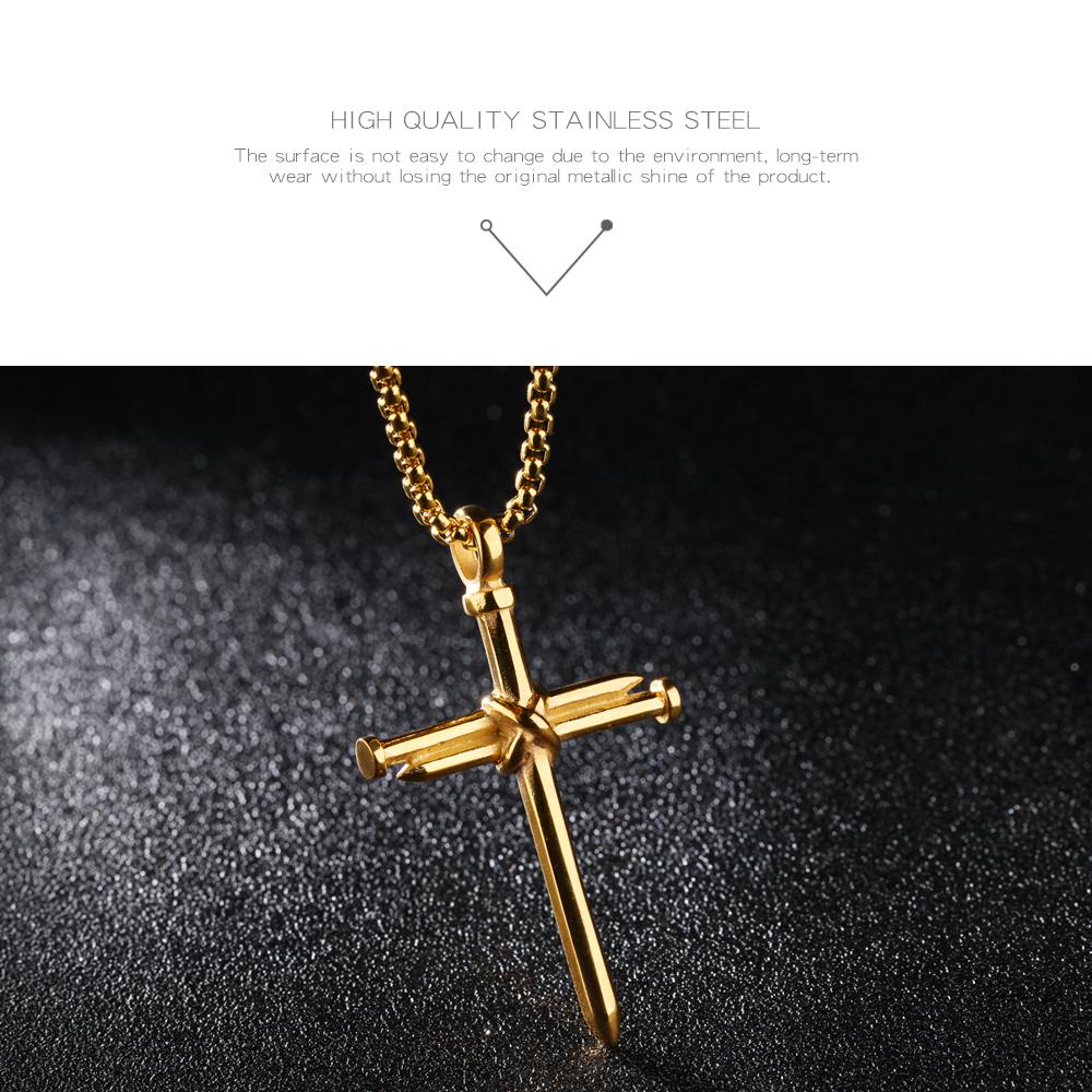 Jewellery men stainless steel chain cross pendant silver necklace jewellery men stainless steel chain cross pendant silver necklace aloadofball Choice Image