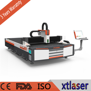 Hot selling IPG 500w Factory directly supply CNC punching and laser cutting machine for metal price
