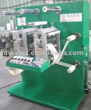 Labels slitting and die cutting machine